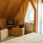 Green loft suite