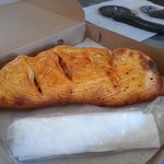 pa's blazing calzone its a hot one