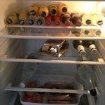 well stocked fridge