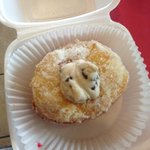 Stuffed Donut with Cannoli filling!!!