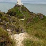 light house on llanddwyn island