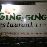 Ging-Ging's main sign board