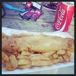 chip shop fish and chips