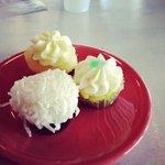 Variety of mini cupcakes