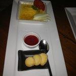 Il dessert: ottimo!