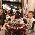 Beautiful chocolate cake made by Gingerbread Tea Room