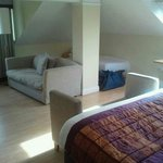 Our very spacious suite