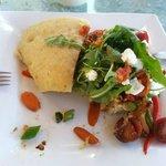 Grilled Vegetable Sandwich $9 - excellent!