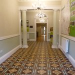 The Victorian entrance with original tiles