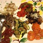 antipasto misto di verdure