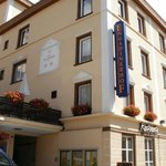 Engadinerhof Hotel entrance