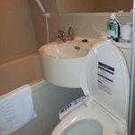 View of toilet/bathroom