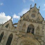 Esterno della chiesa del Monastero di Brou