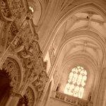 Interno della chiesa del Monastero di Brou