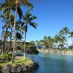 Lagoon at the Hilton Waikiki Village Hawaii