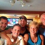 Family having a wonderful time at the Inn