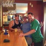 men at the Inn bar