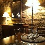 La cave voûtée du restaurant Le Vieux Four