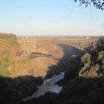 The bungy jumping bridge