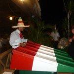 l'animation des jeux pour la soirée mexicaine