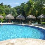 la piscine au calme