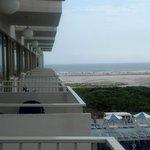 View of Balconies on 4th floor