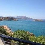 foto vanaf het balkon!!