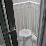 My microscopic balcony - room 306