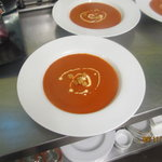 Homemade Tomato & Red Pepper Soup
