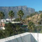 View from the rooftop terrace on Table Mountain