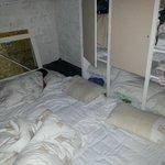 Nos lits dans la cave
