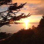 Sunset from Awtrey terrace