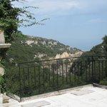 view from Akadi monastry