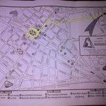 Mapa de ubicación del hotel (Av. Recoleta con Jr. Atahualpa)