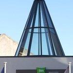 Kuppel über Eingangsbereich