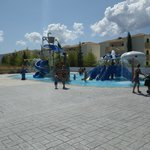 splashpark, young kids'area