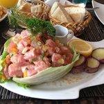 El mejor ceviche de atún de la Isla.