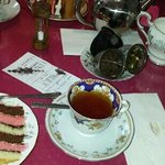 Fabulous teas and Speciality cake!
