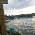 Вид на город и бухту