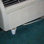 Zimmer defekte Klimaanlage
