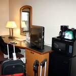 Schreibtisch / Mini-Küche