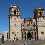 Puno's cathedral is interesting.  Lots of local references in the stonework.