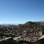 View of the city, as we left Puno.