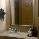 Bathroom sink (and ice bucket, lol)