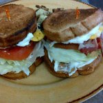Beltch Sandwich On Crimp Bread