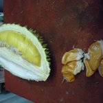 Durian opposite the hotel
