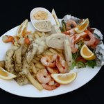 FRESH Seafood platter that knocks the competitors out of the water