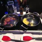 Breakfast: yummy sausage & egg