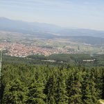Bansko from above