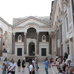 The Peristyle of Diocletian's Palace